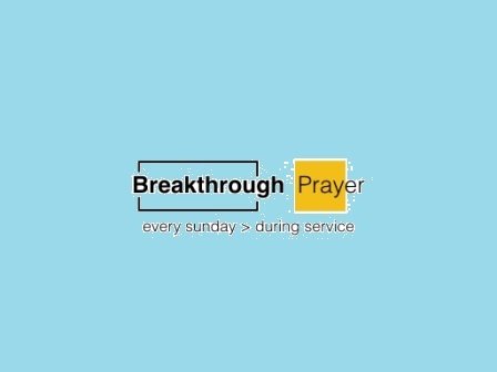Breakthrough Prayer-blue